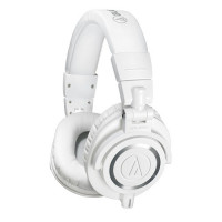 Audio Technica ATH-M50x White Closed Back Studio Headphones